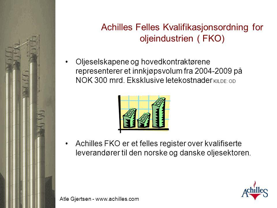 Achilles Felles Kvalifikasjonsordning for oljeindustrien ( FKO)
