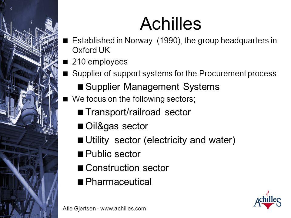 Atle Gjertsen - www.achilles.com