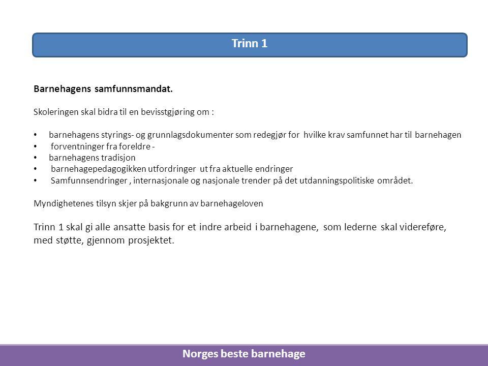 Norges beste barnehage
