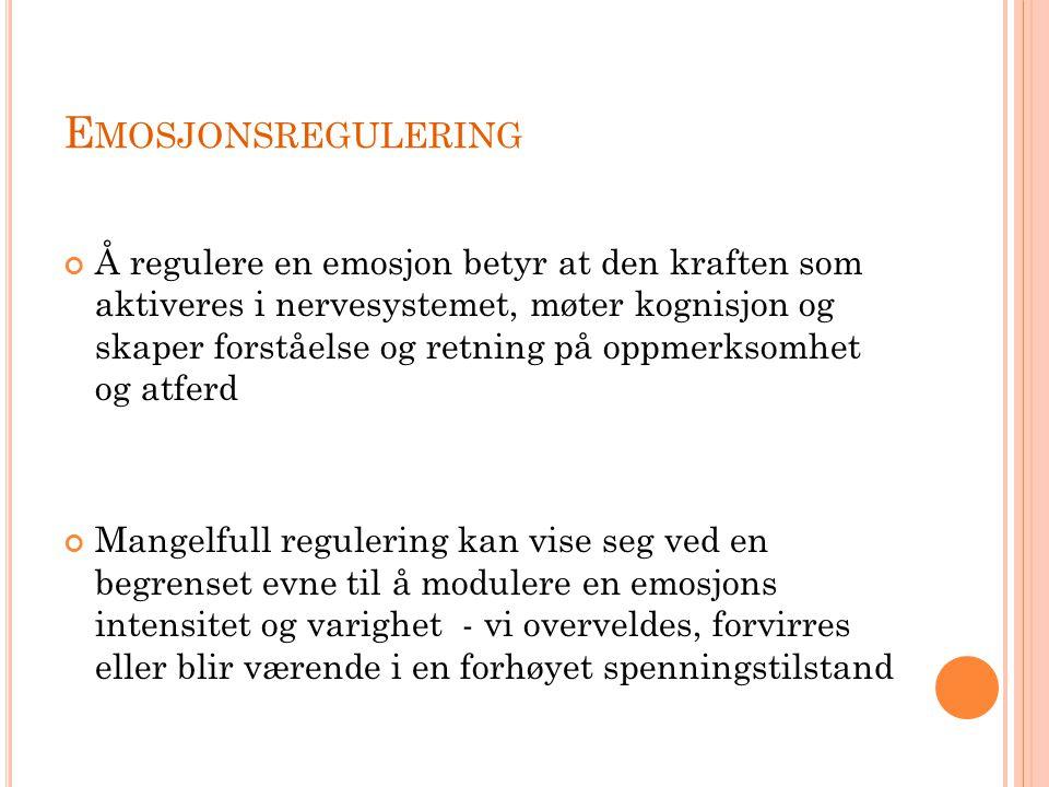Emosjonsregulering