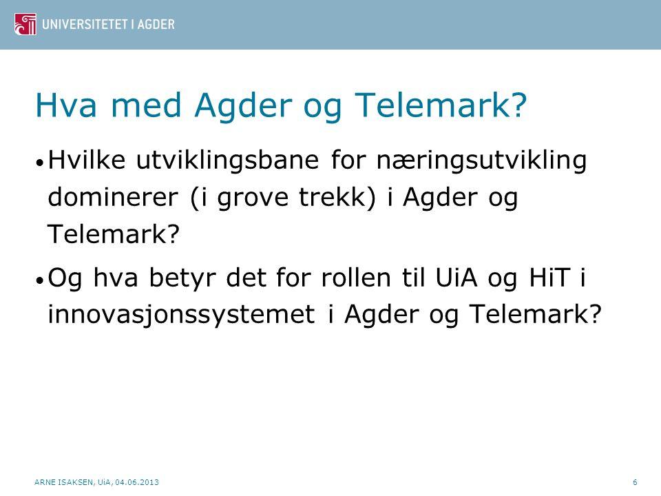 Hva med Agder og Telemark