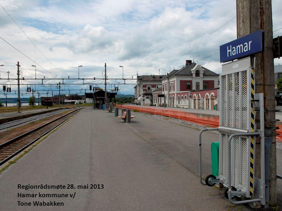Regionrådsmøte 28. mai 2013 Hamar kommune v/ Tone Wabakken