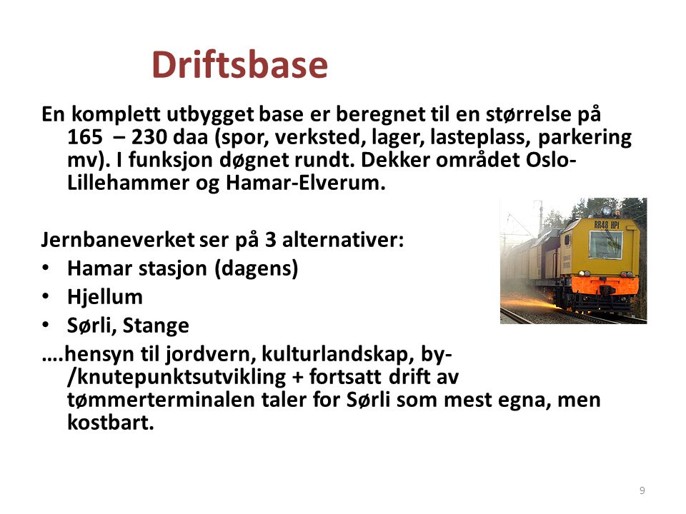 Driftsbase