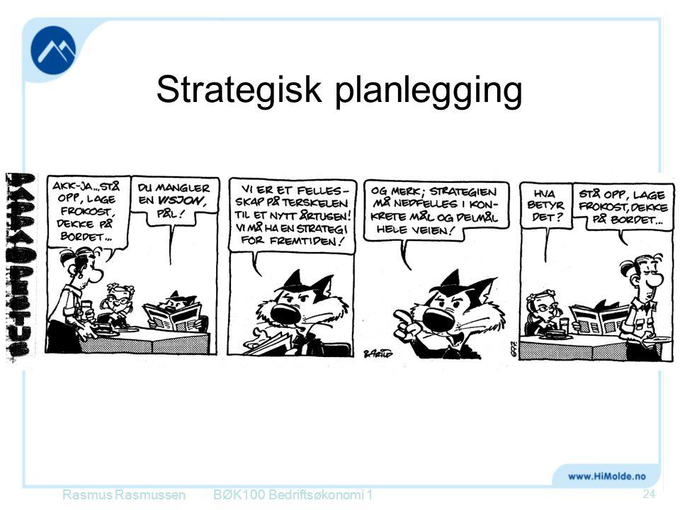 Strategisk planlegging