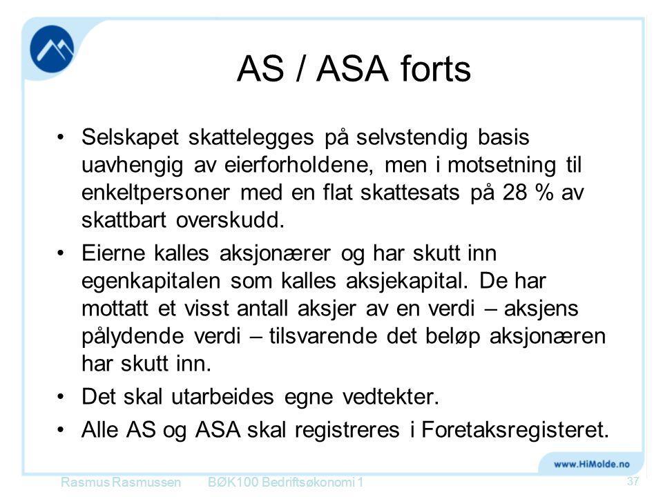 AS / ASA forts