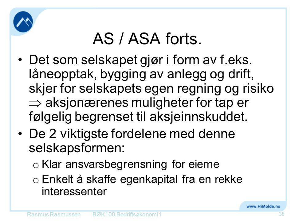 AS / ASA forts.
