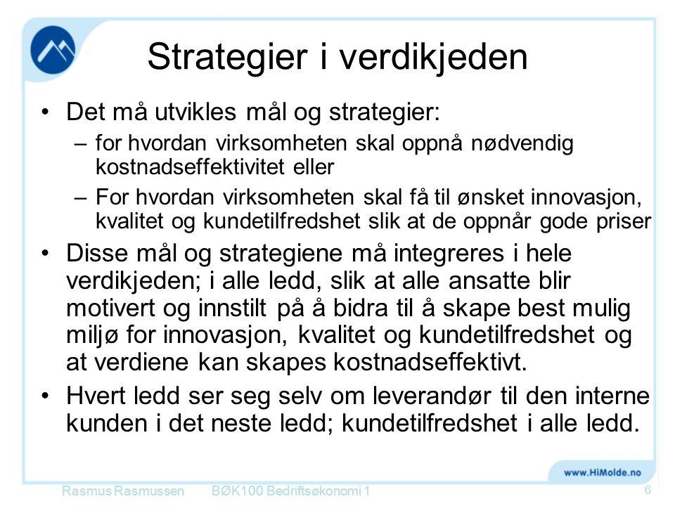 Strategier i verdikjeden
