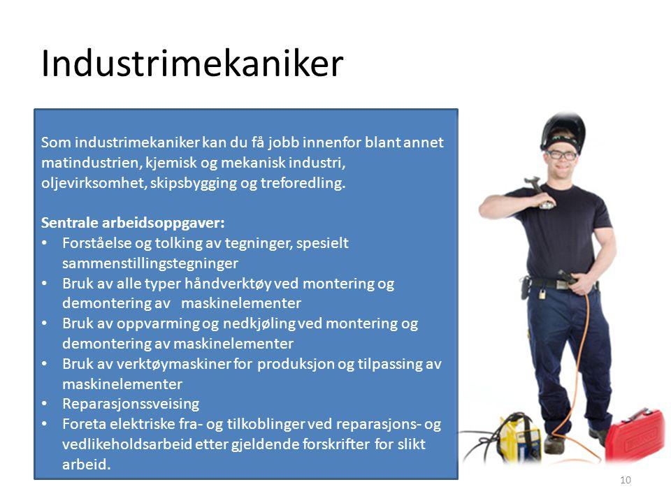 Industrimekaniker