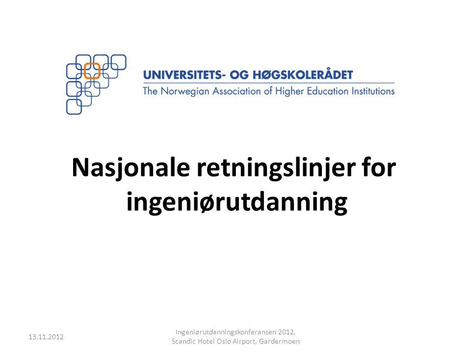 Nasjonale retningslinjer for
