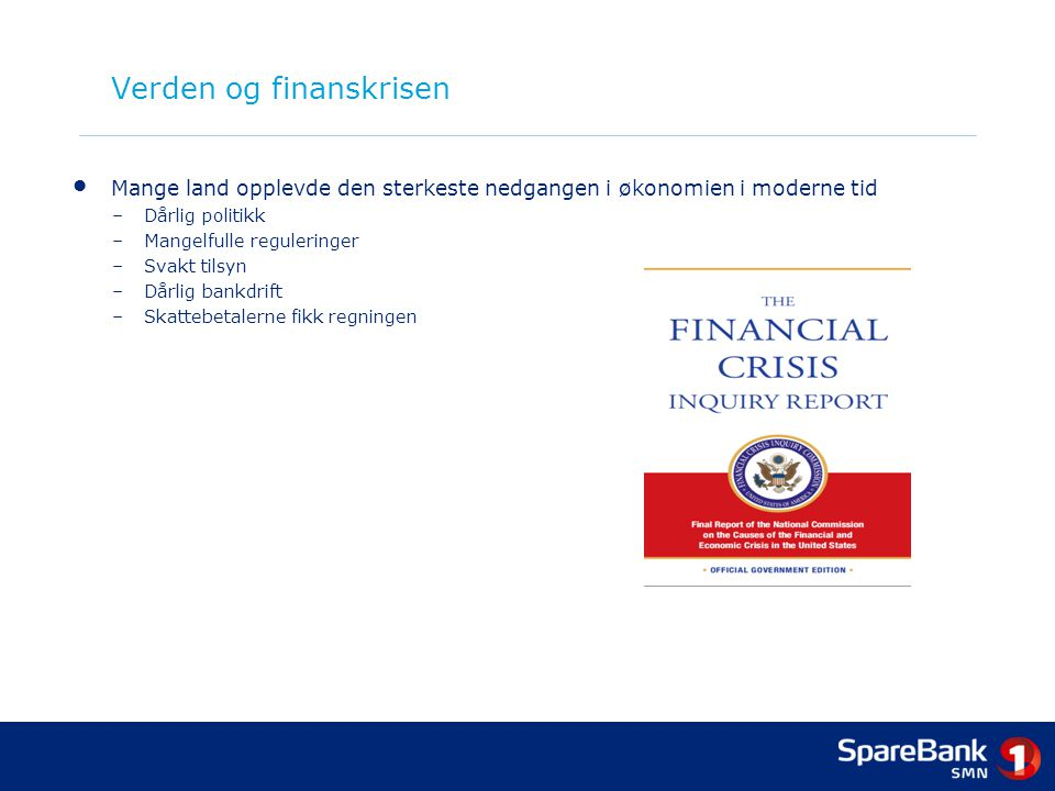 Verden og finanskrisen