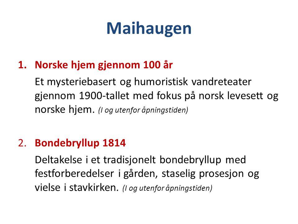 Maihaugen Norske hjem gjennom 100 år