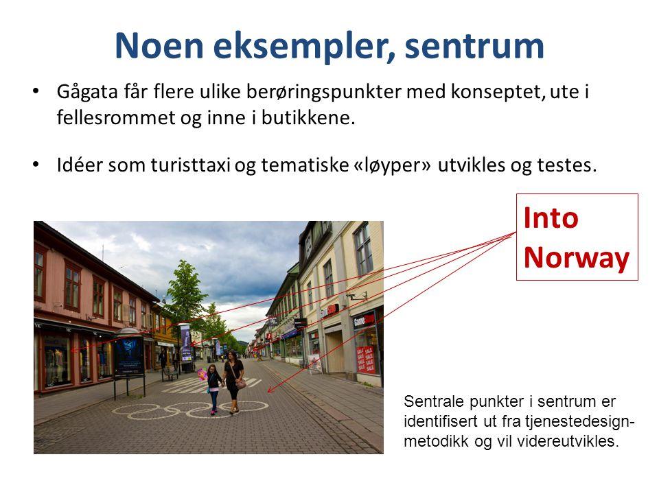 Noen eksempler, sentrum