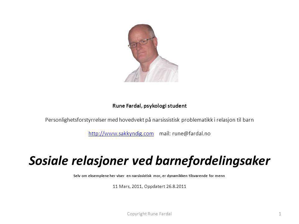 Rune Fardal, psykologi student