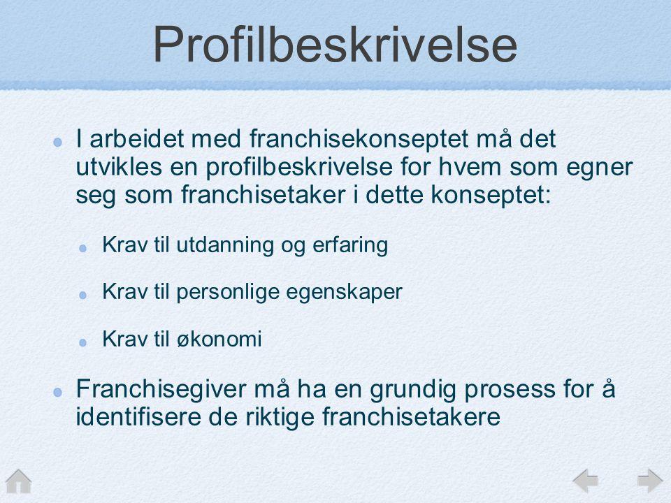 Profilbeskrivelse