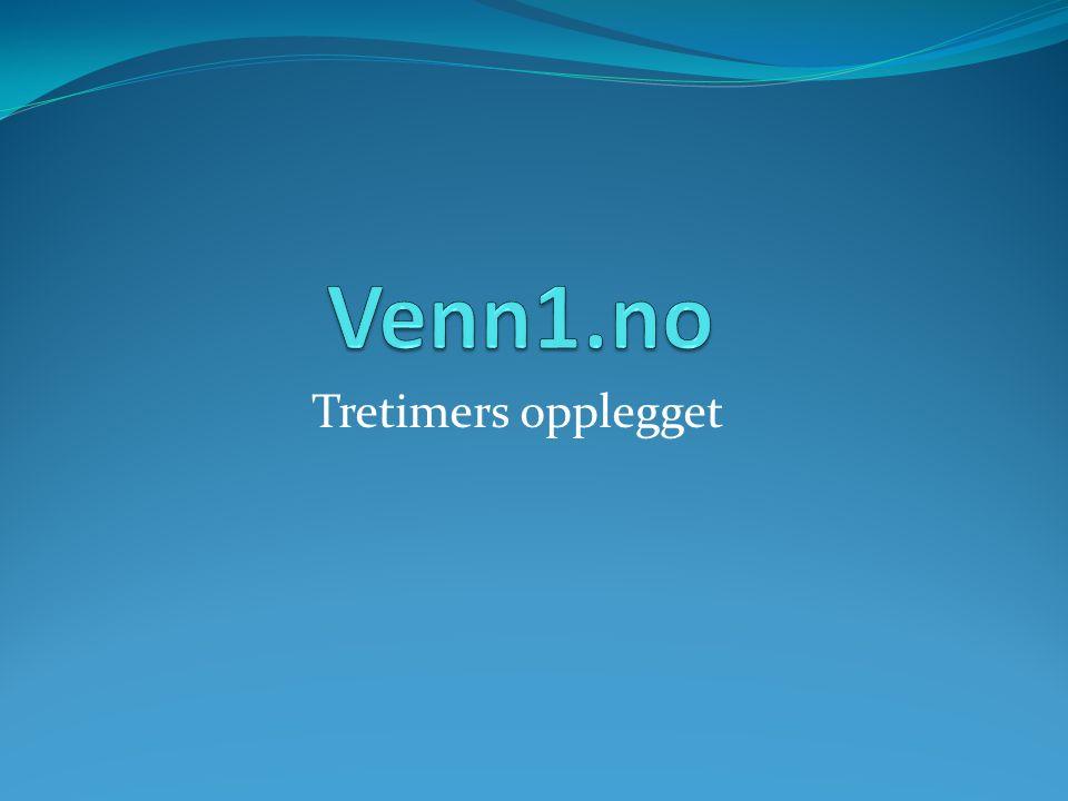 Venn1.no Tretimers opplegget