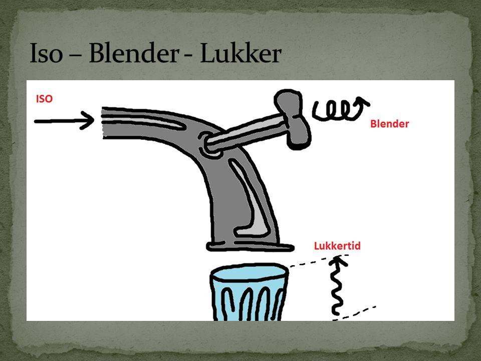 Iso – Blender - Lukker