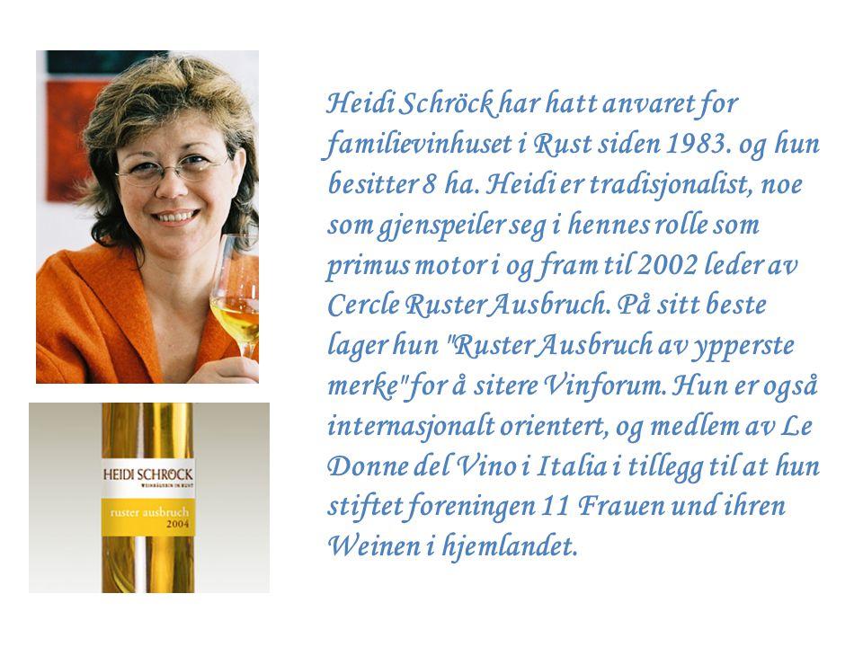 Heidi Schröck har hatt anvaret for familievinhuset i Rust siden 1983
