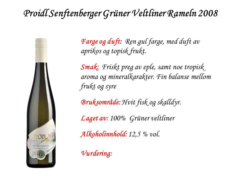 Proidl Senftenberger Grüner Veltliner Rameln 2008
