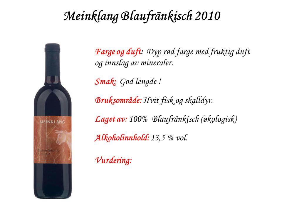 Meinklang Blaufränkisch 2010