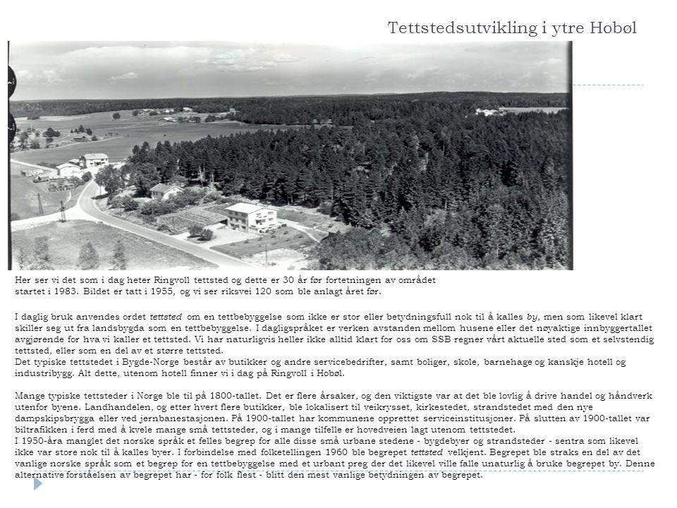 Tettstedsutvikling i ytre Hobøl