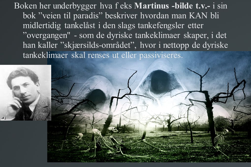 Boken her underbygger hva f eks Martinus -bilde t. v