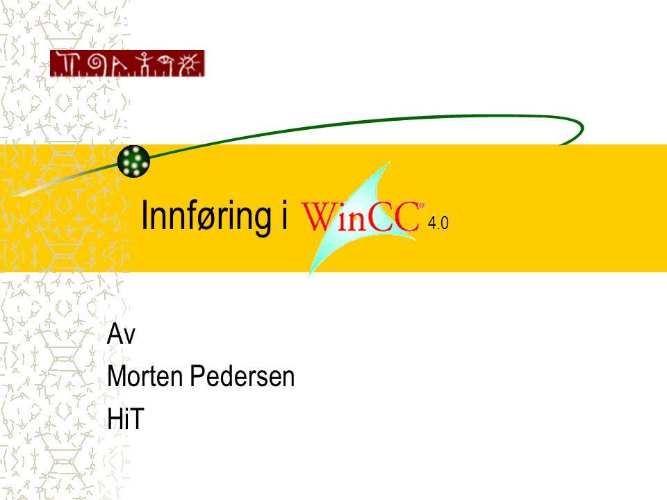 Innføring i 4.0 Av Morten Pedersen HiT