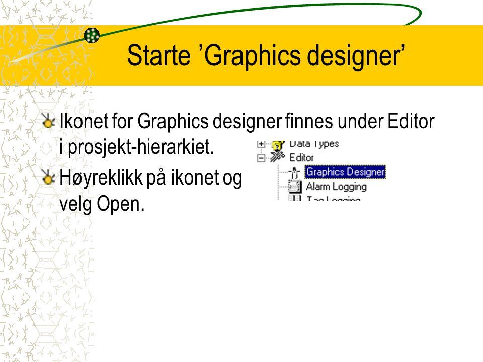 Starte 'Graphics designer'