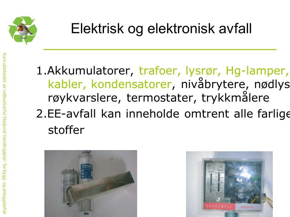 Elektrisk og elektronisk avfall