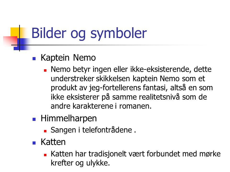 Bilder og symboler Kaptein Nemo Himmelharpen Katten