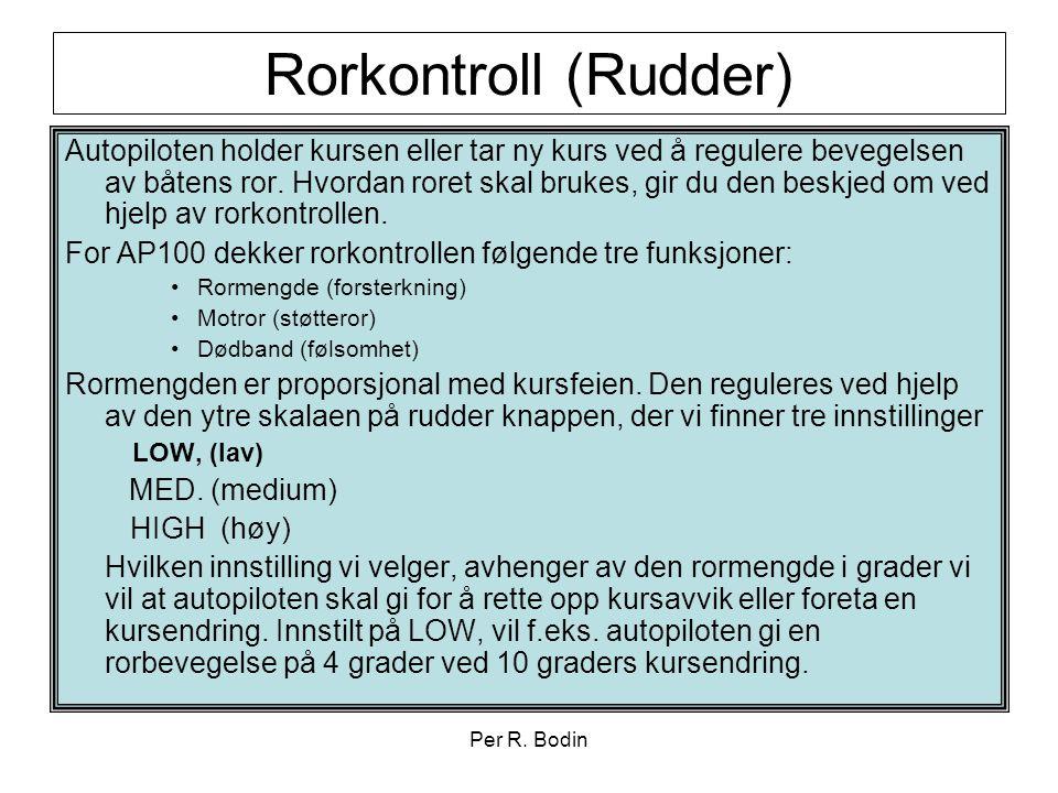 Rorkontroll (Rudder)