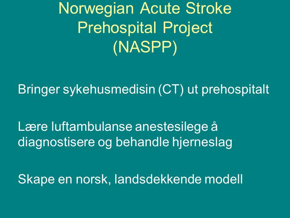 Norwegian Acute Stroke Prehospital Project (NASPP)