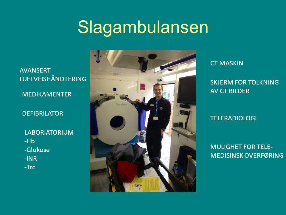Slagambulansen CT MASKIN AVANSERT LUFTVEISHÅNDTERING