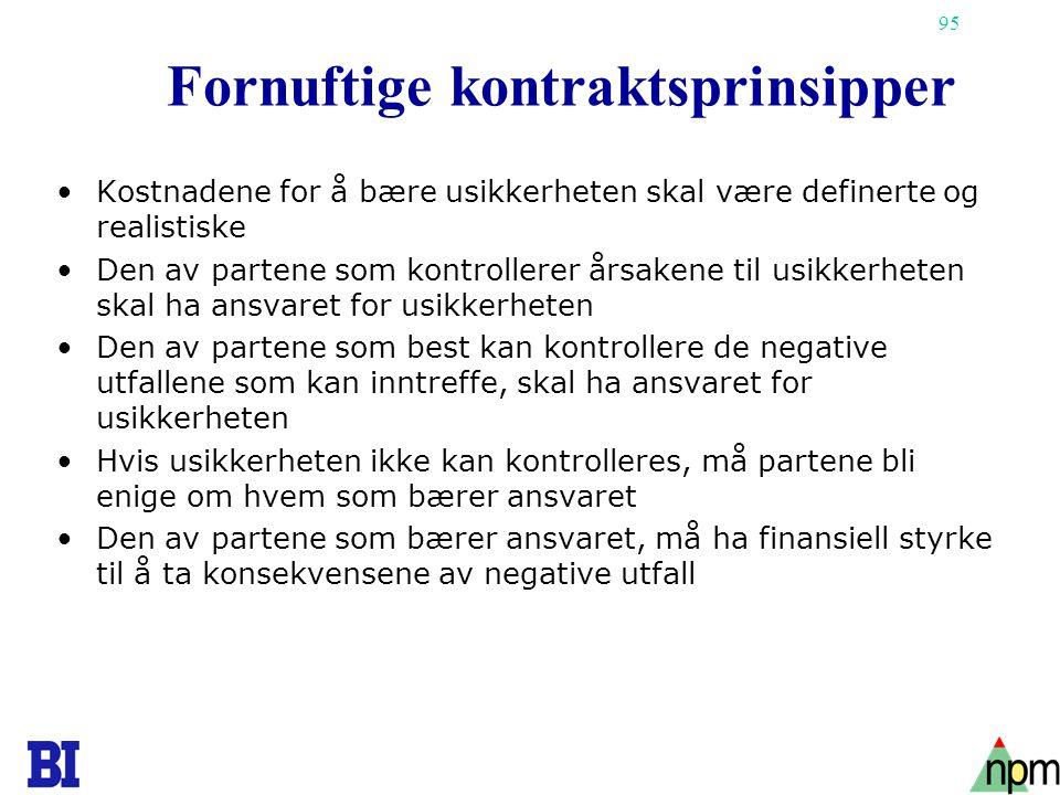 Fornuftige kontraktsprinsipper