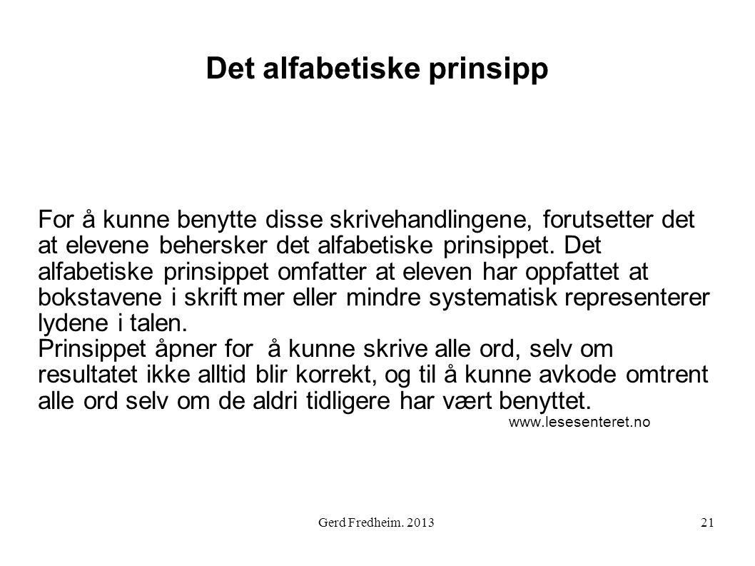 Det alfabetiske prinsipp