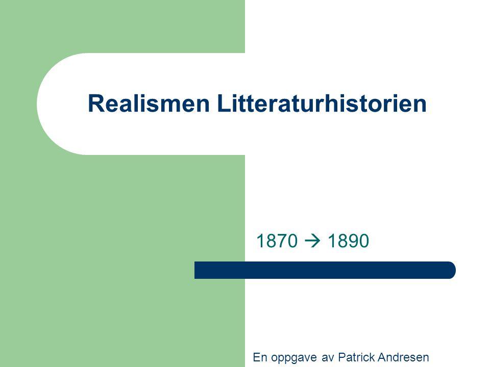 Realismen Litteraturhistorien