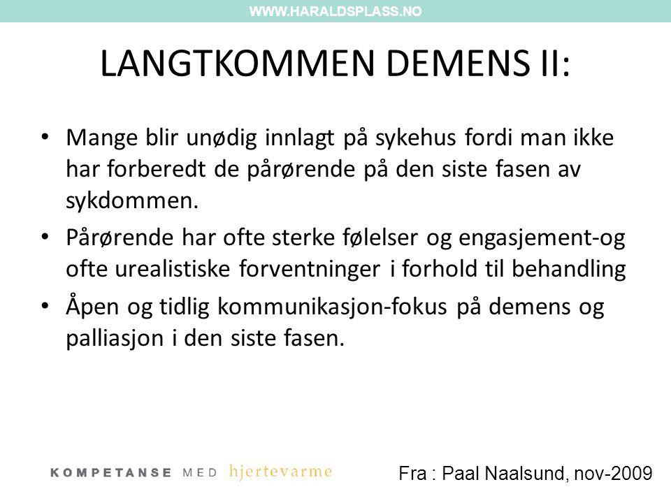 LANGTKOMMEN DEMENS II: