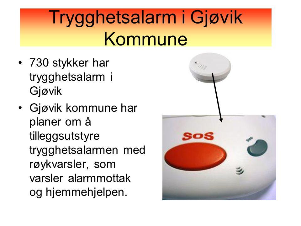 Trygghetsalarm i Gjøvik Kommune