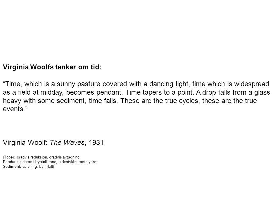 Virginia Woolfs tanker om tid: