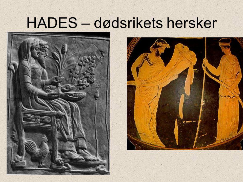 HADES – dødsrikets hersker