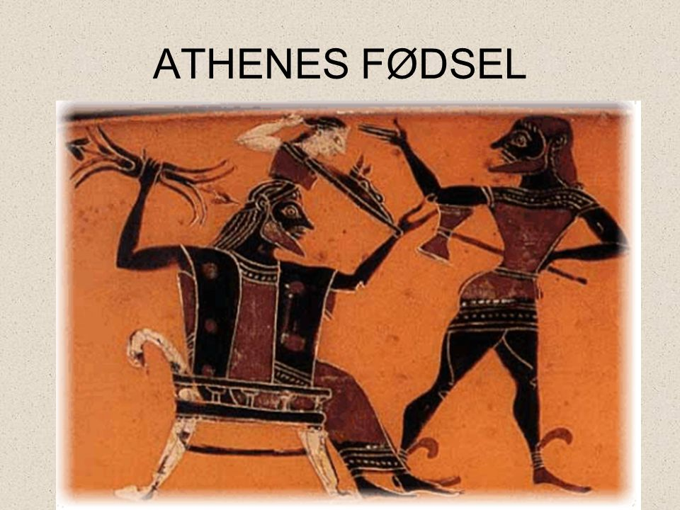 ATHENES FØDSEL