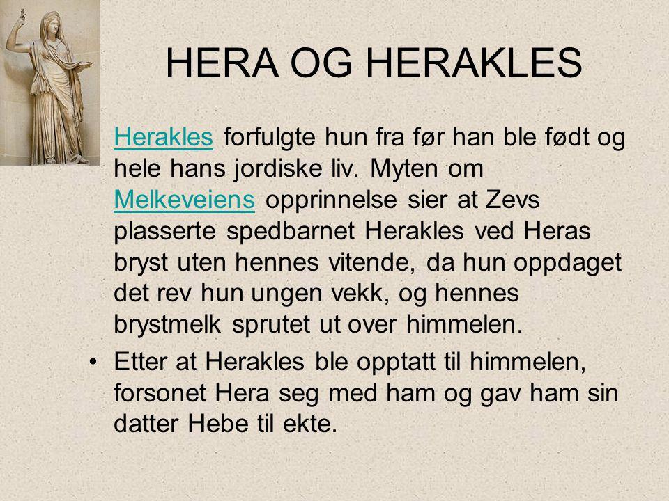 HERA OG HERAKLES