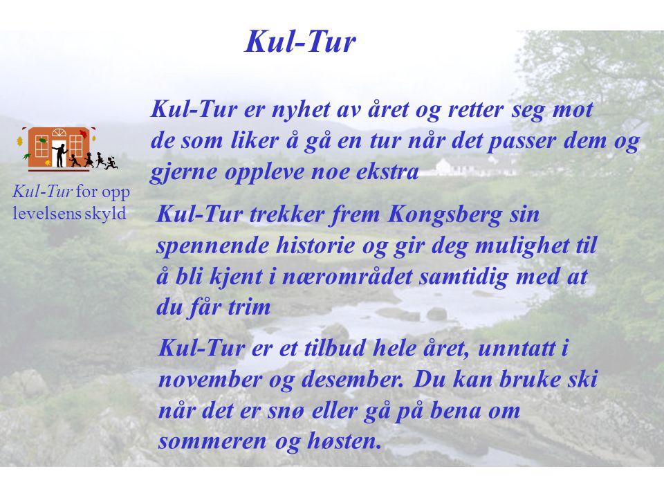 Kul-Tur Kul-Tur er nyhet av året og retter seg mot