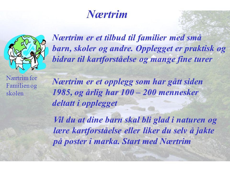 Nærtrim Nærtrim er et tilbud til familier med små