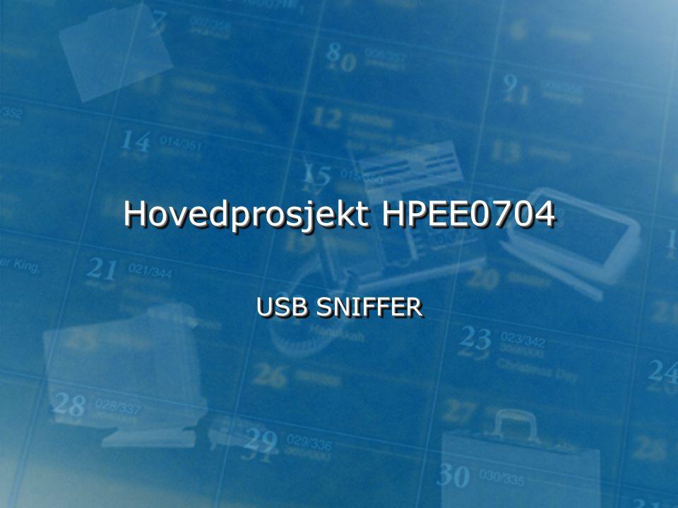Hovedprosjekt HPEE0704 USB SNIFFER