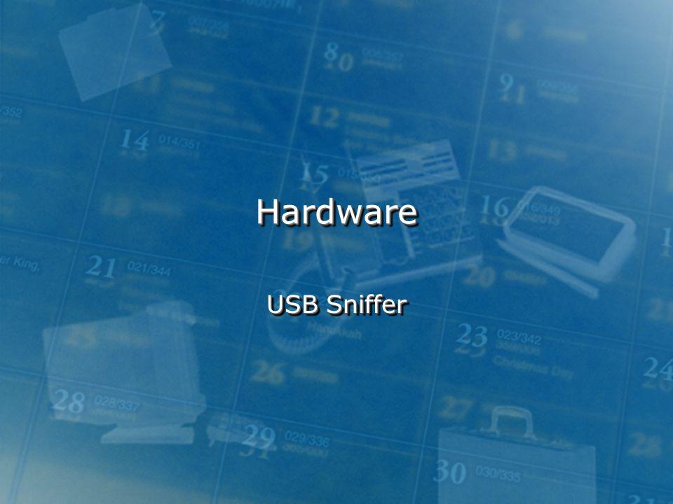 Hardware USB Sniffer