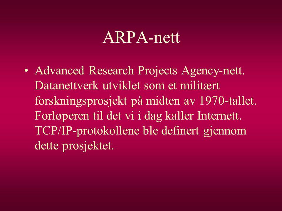 ARPA-nett