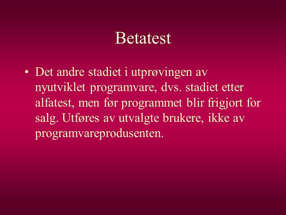 Betatest