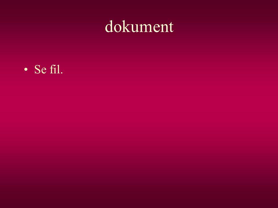 dokument Se fil.