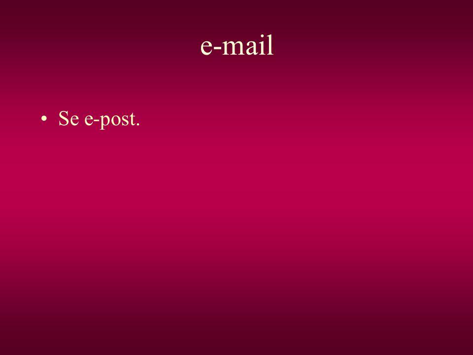 e-mail Se e-post.