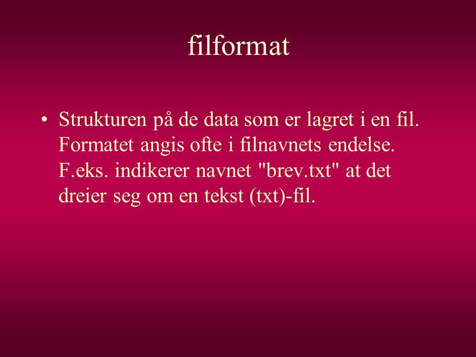filformat